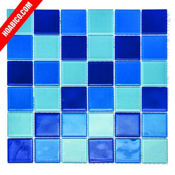 Gạch mosaic thủy tinh và những ưu điểm vượt trội của chúng