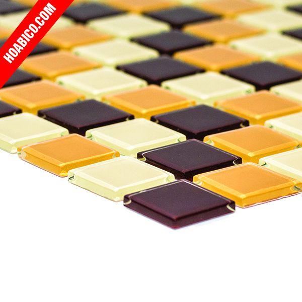 Gạch mosaic socola hồng
