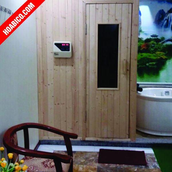 Phòng xông hơi khô hoàn toàn bằng gỗ