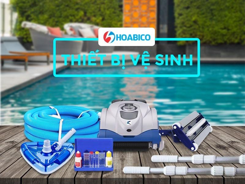 Thiết bị vệ sinh bể bơi Hoabico