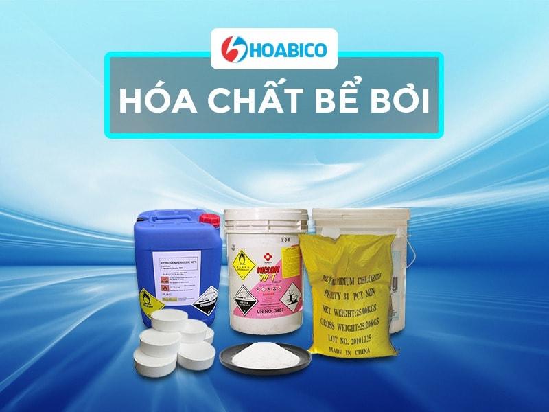 Hóa chất bể bơi Hoabico