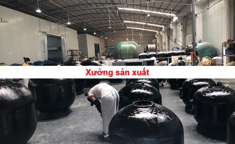 Xưởng sản xuất bình lọc nước bể bơi Minder Series M Phiên Bản 2018