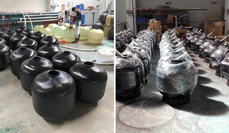 Quá trình sản xuất bình lọc nước bể bơi Minder Series M Phiên Bản 2018
