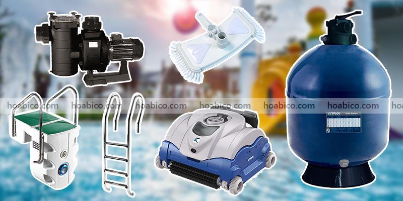 Mẫu bình lọc bể bơi chính hãng được sử dụng nhiều nhất - Thiết bị bể bơi Hoabico