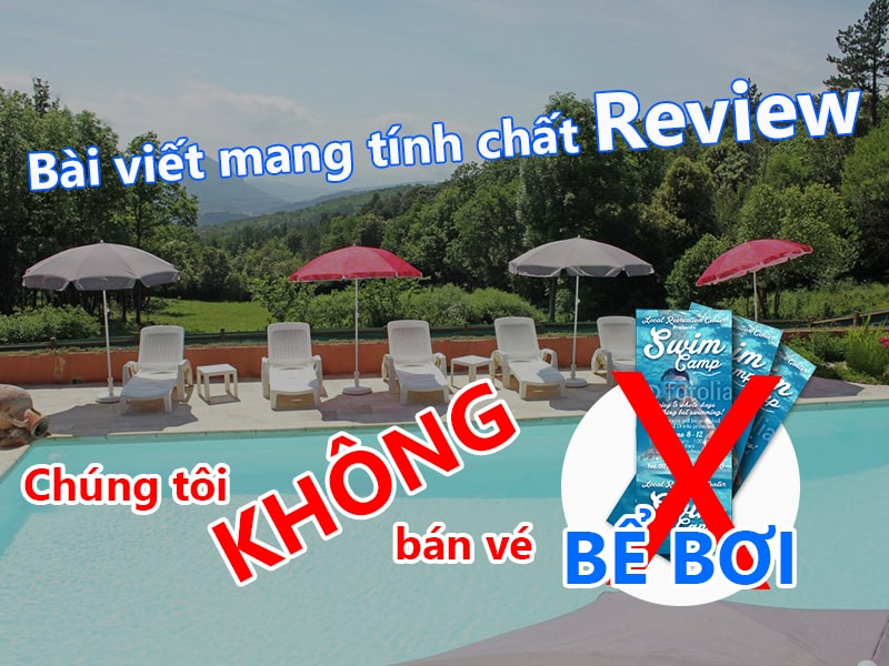 Review bể bơi - Hoabico
