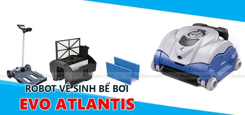 Robot vệ sinh bể bơi Atlantis EVO Kripsol- Hoabico