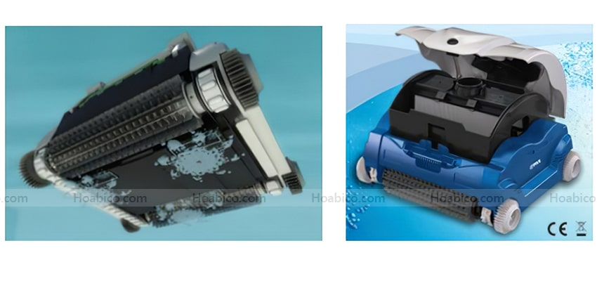 Đặc điểm Robot vệ sinh bể bơi Atlantis EVO Kripsol - 1