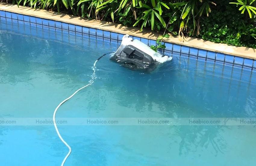 Ứng dụng của Robot vệ sinh bể bơi Atlantis EVO Kripsol