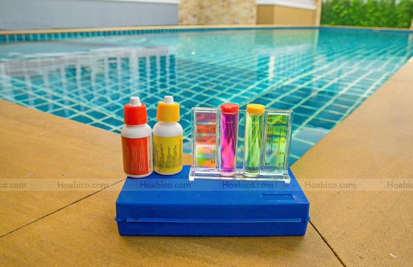 Ứng dụng bộ test thử nước bể bơi SPS - 1