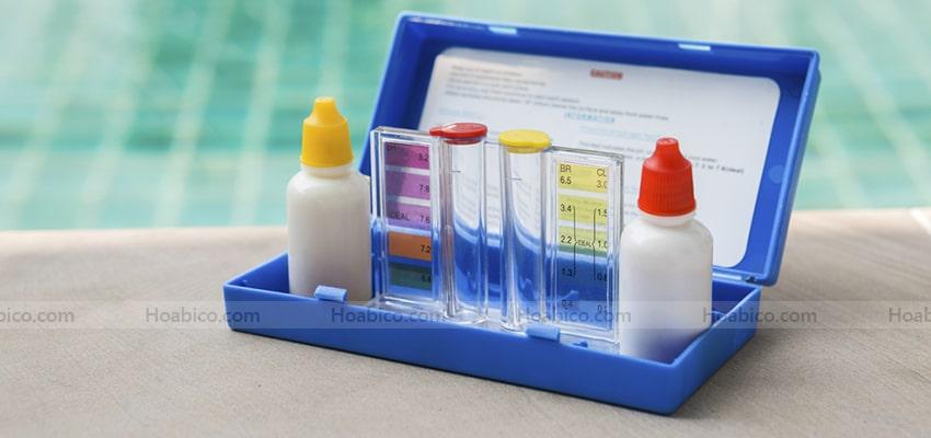 Đặc điểm bộ test thử nước bể bơi SPS