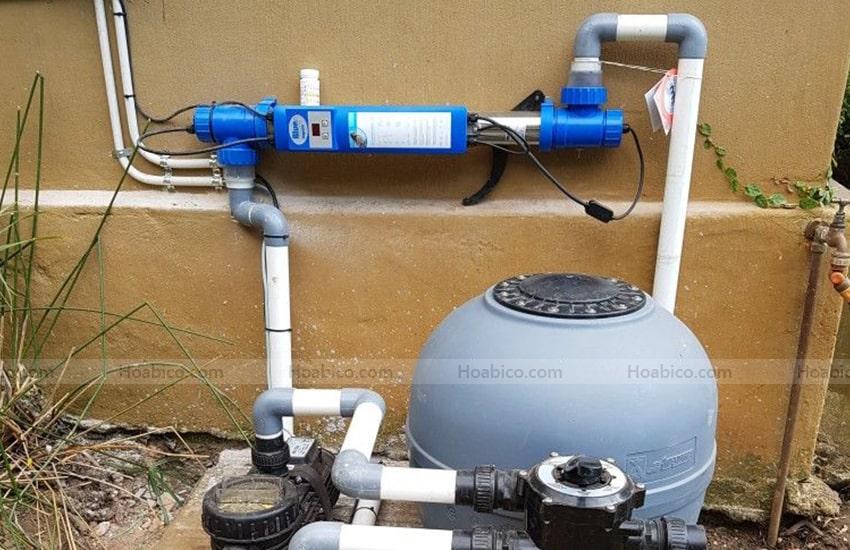 Ứng dụng sản phẩm đèn Copper ionizer UV- C 75W