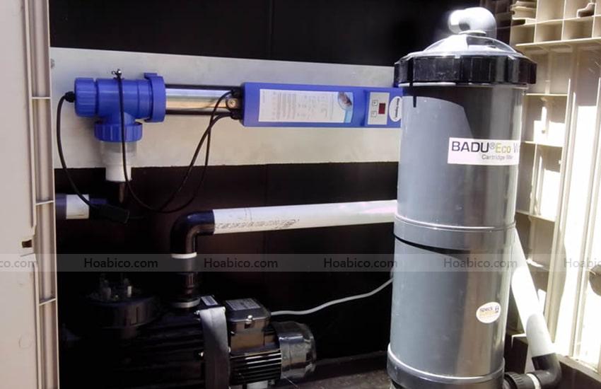 Ứng dụng sản phẩm đèn Copper ionizer UV- C 75W khác
