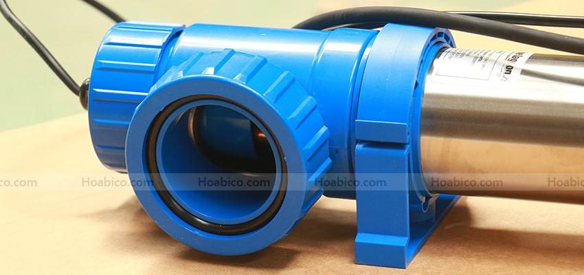 Cận cảnh đèn Copper ionizer UV- C 75W