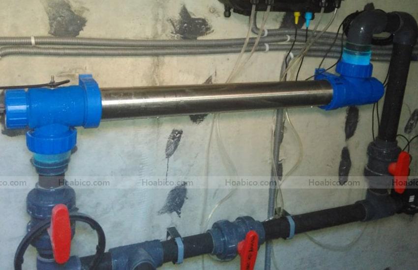 Ưu điểm vượt trội khi xử lý nước bằng đèn Blue Lagoon UV-C