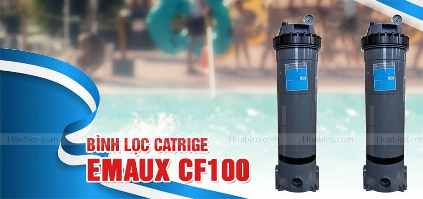 Bình lọc bể bơi Cartridge Emaux CF100 chính hãng cao cấp | Hoabico