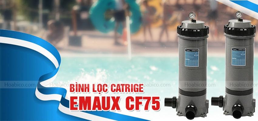 Bình lọc bể bơi Cartridge Emaux CF75 chính hãng | Hoabico