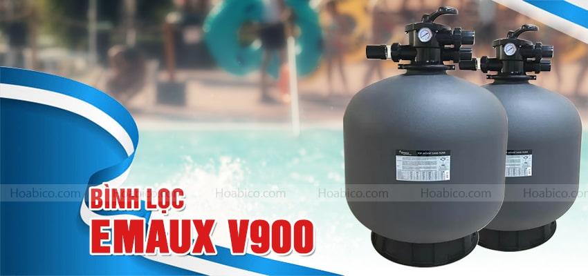 Bình lọc Emaux V900 bể bơi cao cấp - Hoabico