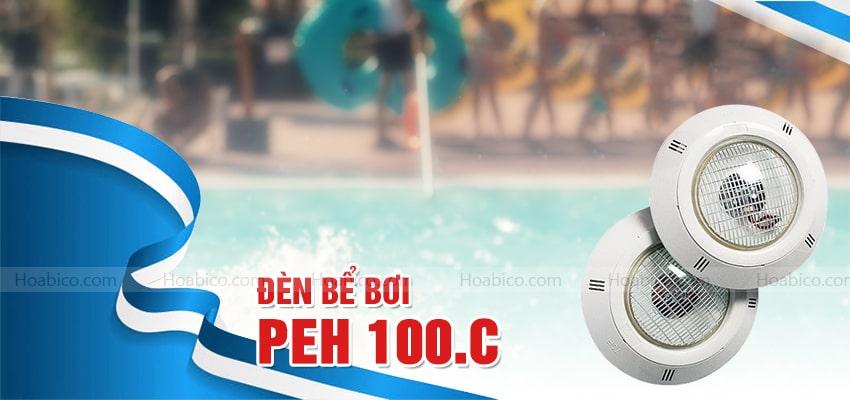 Đèn halogen thành hồ bơi PEH 100.C chính hãng - Hoabico