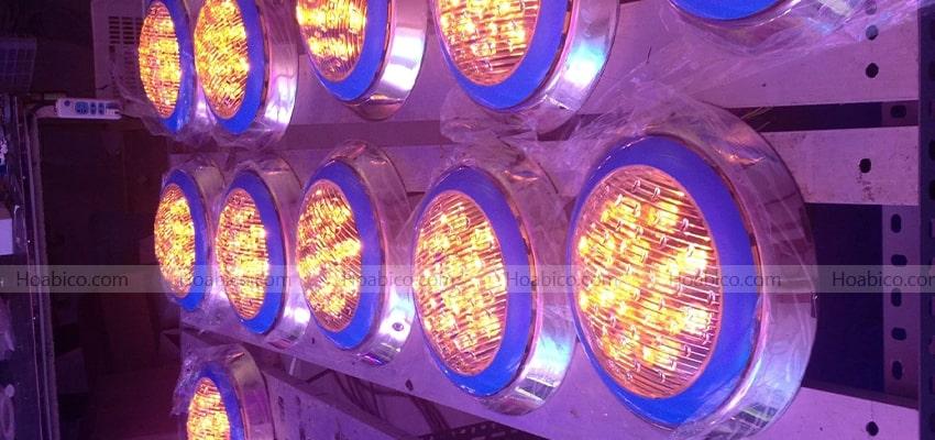 Đặc điểm đèn Led vàng trang trí bể bơi (12W)