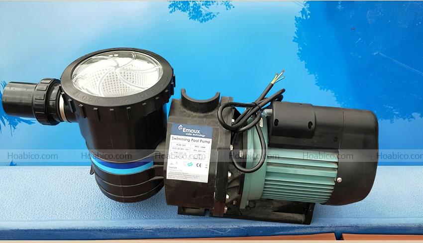 Đặc điểm máy bơm bể bơi Emaux 1.5HP