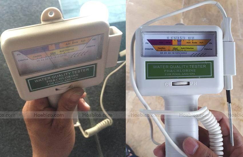 Máy đo nồng độ PH chuyên dụng cho hồ bơi