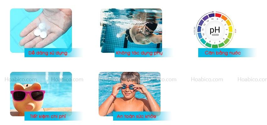 Hướng dẫn sử dụng hóa chất xử lý nước bể bơi đúng cách - Hoabico