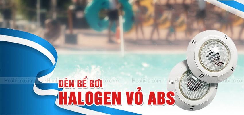 Đèn Halogen treo thành bể mặt bằng nhựa ABS - Hoabico