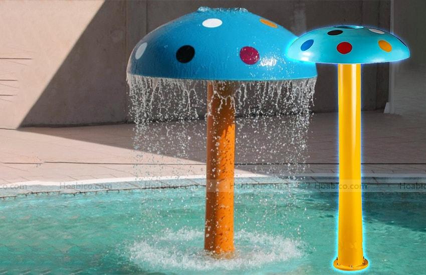 Hình ảnh cây nấm phun nước bể bơi- 1