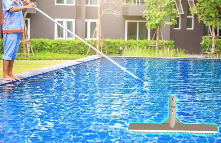 Hình ảnh thực tế của chổi cọ vệ sinh bể bơi Emaux