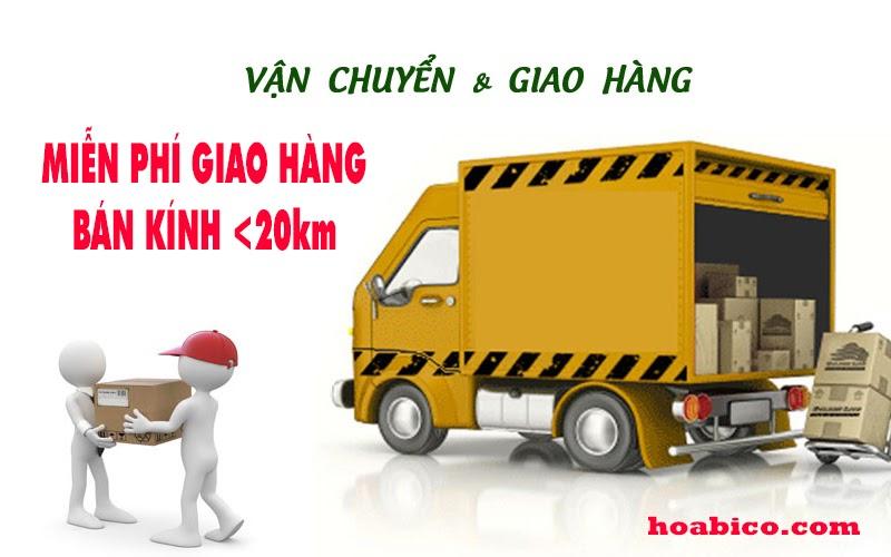 Chính sách giao hàng - vận chuyểnthiết bị bể bơi Hoabico