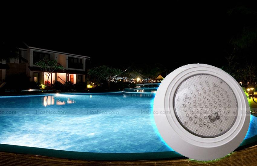 Ứng dụng sản phẩm đèn led bể bơi Kripsol PEH 111