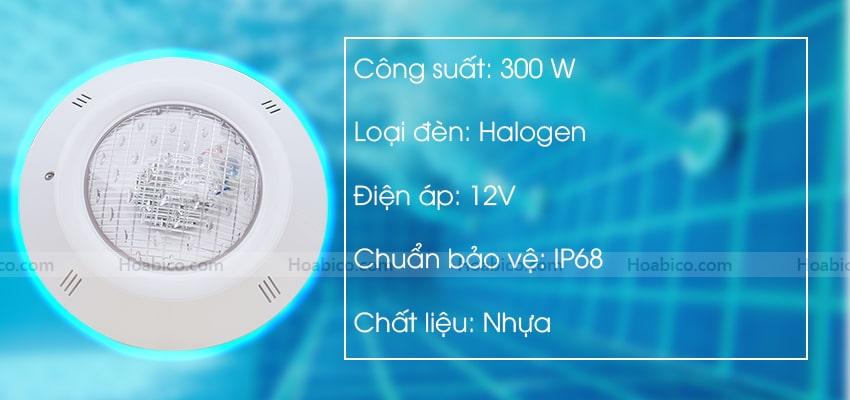 Thông số kỹ thuật đèn bể bơi Kripsol PEH300