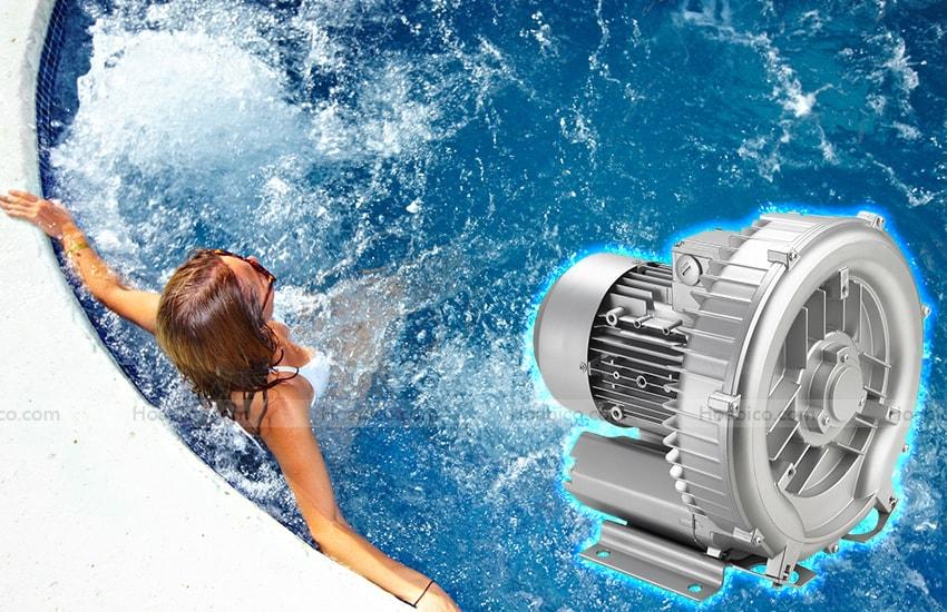 Ứng dụng máy thổi khí con sò Kripsol SKH300T1