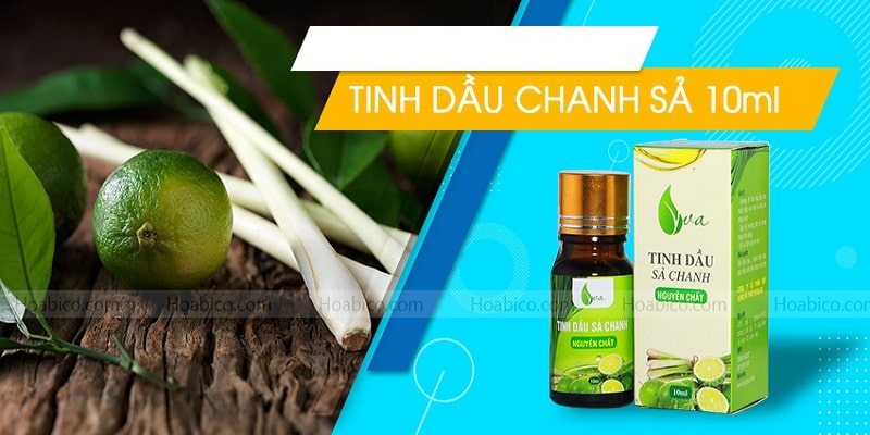 Tinh dầu sả chanh (10 ml) - Hoabico