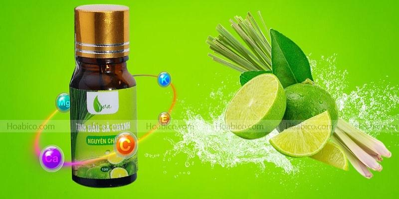 Đặc tính của tinh dầu chanh sả
