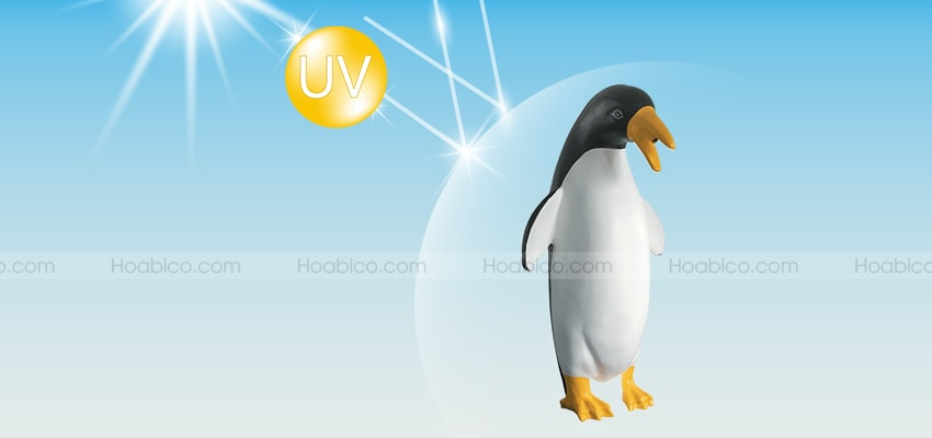 Đặc điểm của sản phẩm chim cánh cụt phun nước