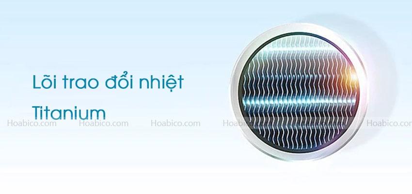 Lõi trao đổi nhiệt máy bơm nhiệt bể bơi NERS-G30Y