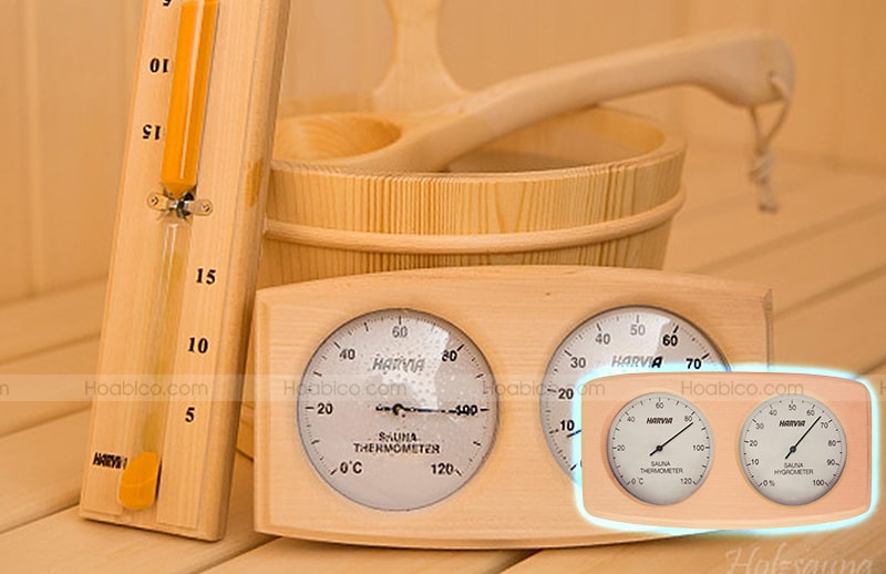 Ứng dụng của nhiệt ẩm kế gỗ Harvia