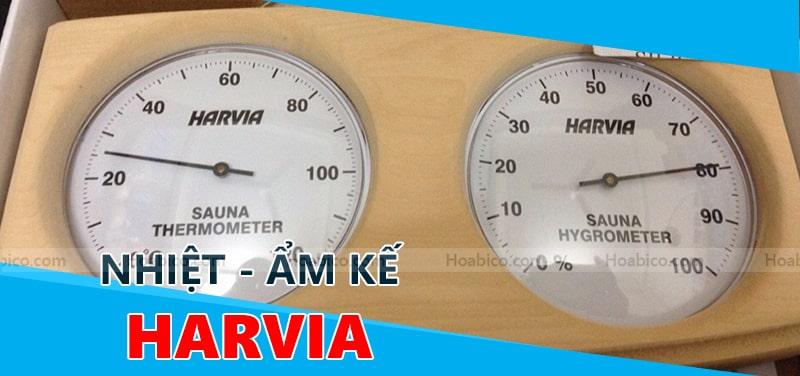 Nhiệt ẩm kế gỗ Harvia chính hãng